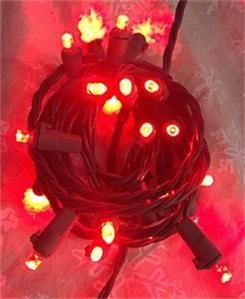 China light series red LED light string on sale