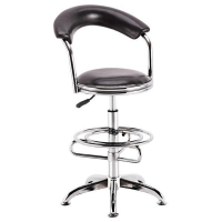 Bar Chair PU Leather Modern Adjustable Swivel Bar Stools Item JH-155