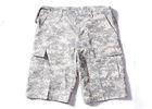 China ACU Military Cargo Shorts With Double Layer's Flaps Button Closure Pocket on sale