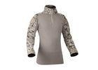 China Men Tactical Military Frog Combat Shirt Slim Fit T Shirt Long Sleeve With Zipper on sale