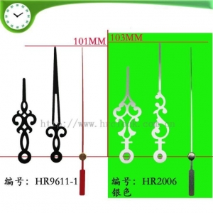 China Clock Parts Metal Clock Hands on sale