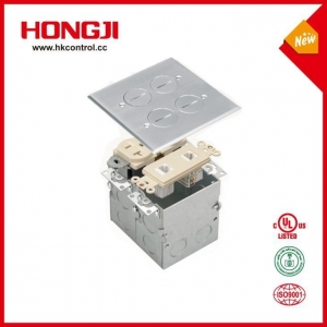 China Polishing Passivation Square Stainless Steel Recessed Floor Box Assembly on sale