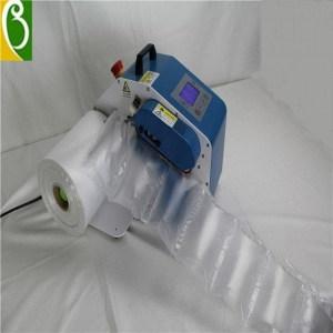 China Blue Mini Type Air Cushion Machine on sale