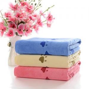 China Printing Embroidery Bath Towel on sale