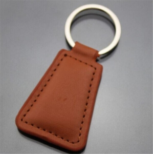 China Keychains Keyrings Advertising Leather Keychains on sale