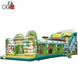 China Inflatable Jungle Slide on sale