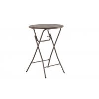 China Rattan Plastic Folding Cocktail Table on sale