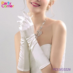China Opera Satin Long Gloves on sale