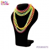 China Neon 80s Plastic Beads Necklace Bracelets for sale