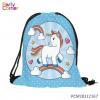 China Mermaid Bag Sequin Unicorn Backpack for sale
