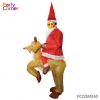 China Christmas Inflatable Snowman Santa Claus for sale