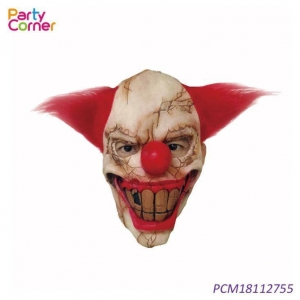 China Halloween Latex Clown Mask on sale