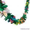 China Hawaiian Tissue Flower Garland Paper Garland for sale
