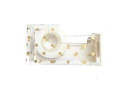 China Gold Acrylic Scotch Tape Dispenser on sale