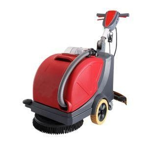 China Electric Floor Scrubber with Foldaway Handle on sale