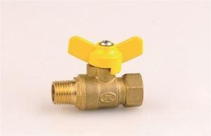 China Female-male Brass Ball Valve on sale