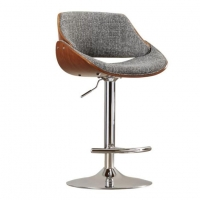 Modern Adjustable Height Swivel Bar Stool