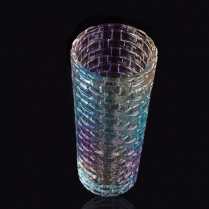 China Antique Lead Crystal Cut Glass Vases on sale