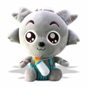 China Baby Wolf Plushes Toy on sale
