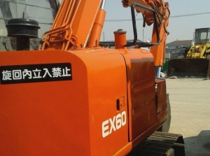 China Used Excavator Used Hitachi EX60 Excavator Year 1991 on sale