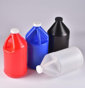 China Plastic Glue Package 1L 2.5L Jerry Can Extrusion Blow Molding Machine on sale
