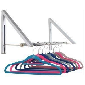China Wall Mounted Garment Hanger Rack on sale