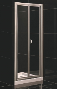 China Bi-fold Door Shower Enclosure with Side Panel supplier