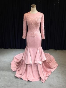 China 2019 Newest Fashion Mermaid arabic Wedding Dress on sale