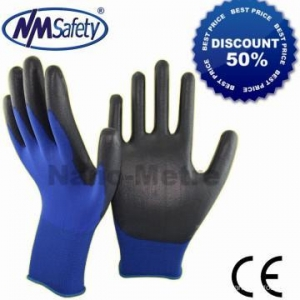 China Nylon/Polyester PU Glove on sale