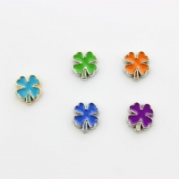 China Four Leaf Clover Floating Charm on sale