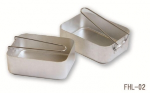 China Military Aluminum Two-piece Mess Tin on sale