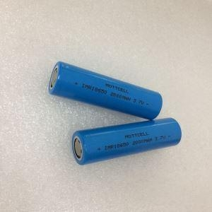China 18650 3.7V 2000mAh Li-ion Rechargeable Battery on sale