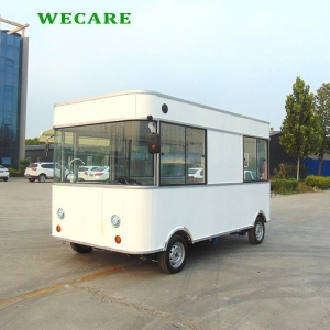 China Fast Food Van on sale