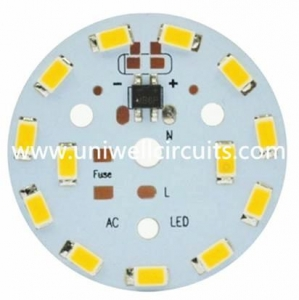 China PCB Aluminum Immersion Silver Circuit Board on sale