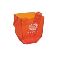 PLAstic Ice Bucket with Tong