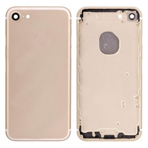 China Back Cover for iPhone 7 - Gold on sale