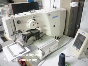 China Juki AMS-210EN Programmable Sewing Machine Used Juki Industrial Sewing Machine on sale