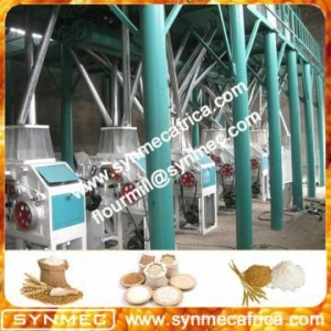 China complete set turn-key project overseas service mini wheat flour mill price on sale