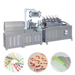China Paper Straw Making Machine Stainless Steel Paper Straw Making Machine on sale