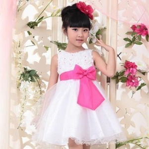 China Wholesale indian summer evening girls dresses for kids on sale