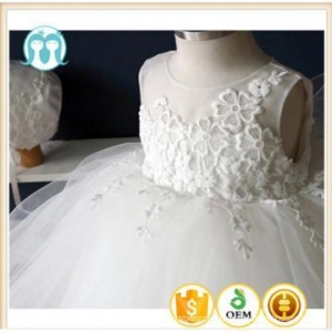 China latest design kids clothes lace dress party wedding dress for girls wear on sale