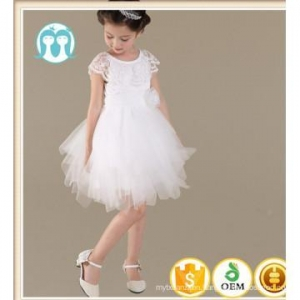 China latest design lace party dress girls wedding dress kids wear on sale