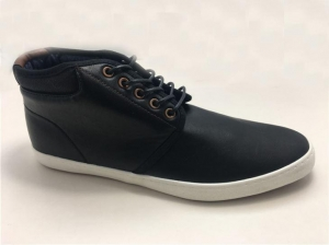 China Casual PU Leather Boots for Men on sale