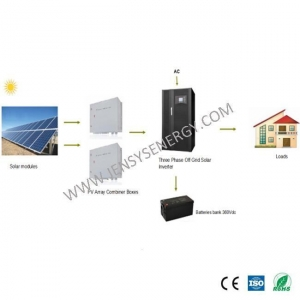 China 100KW off Grid 3 Phase Solar System for Residential Use on sale