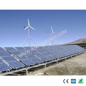 China 3KW Solar Panel and Wind Turbine Hybrid System on sale