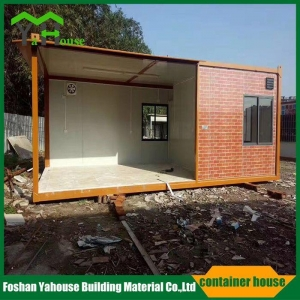 China Portable steel structure prefabricated flat pack container house Description on sale