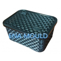 China Rattan Basket Plastic Injection Mould on sale
