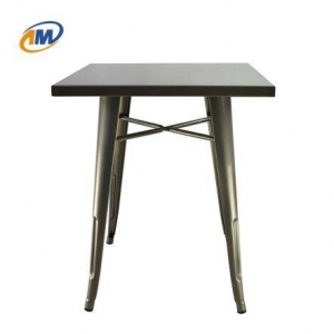 China Vintage Metal Frame Table on sale