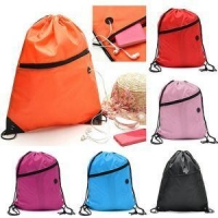 Premium Quality Drawstring Backpack Gym Bag