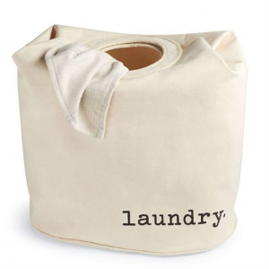 China Cotton Canvas Laundry Hamper on sale